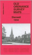MAP OF STANWELL 1934