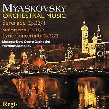 Myaskovsky Orchestral Music Yevgeny Samoilov New Regis CD 5055031312443