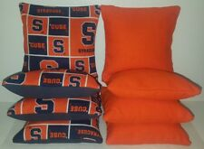 Set Of 8 Syracuse University Cornhole Bean Bags Free Shipping