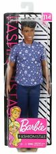 Barbie Fashionistas KEN DOLL - PREPPY FLORALS #114 Blue Shirt Mattel