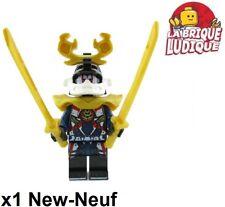 Lego - Figurine Minifig Ninjago Samurai X + sabre sword njo390 70651 NEUF