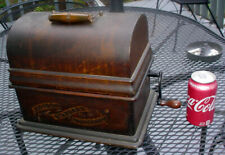 Original Antique Oak Edison Crank Wind Standard Phonograph Nr