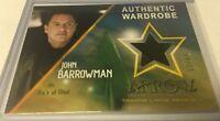 Cryptozoic Arrow Season 4 John Barrowman Ra's Al Ghul Costume Card M14 Rare /49