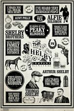 Peaky Blinders Claims & Graphic Arts Poster 91 x 61 cm - Hole in the Wall