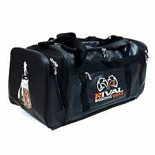 Rival Rgb10 Gym Bag Boxing Holdall Backpack Duffel Gear Training Black Orange