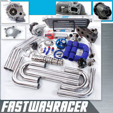 Camry Solara TC XB 2AZ-FE 2AZFE 2.4L T3 T04E T3/T4 Turbo Kit Cast Turbo Manifold