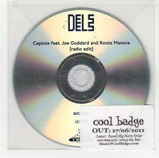 (GG875) Dels, Capsize ft Joe Goddard & Roots Manuva - 2011 DJ CD