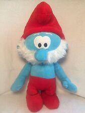 "Papa Smurf Plush The Smurfs Toy Stuffed Doll 16"" Peyo Nanco 2010"