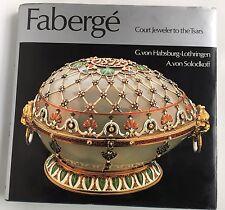 Faberge Court Jeweler To The Tsars Book 1979 von Habsburg-Lothringen Solodkoff