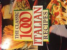 THE CLASSIC 1000 ITALIAN RECIPES BY CHRISTINA GABRIELLI PAPERBACK