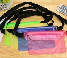 2 xWater proof pouch,cell phone, bum bag,carry bag,swim,surf,fishing