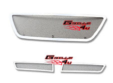 SS 1.8mm Mesh Grille Combo Customized For 03-09 Lexus GX 470 GX470