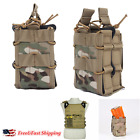 Tactical Magazine Utility Drop Dump Pouch Molle Military Gun Ammo Bag Hunting US