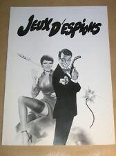 "DOSSIER DE PRESSE DU FILM ""JEUX D'ESPIONS"" / WALTER MATTHAU / BON ETAT"