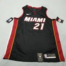 Nike NBA Miami Heat  Hassan Whiteside Jersey 864487-010 Size Large