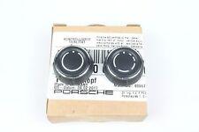 Genuine Porsche Radio Knob Set 981/991 Boxster/Cayman/Carrera/Cayenne/Panamera