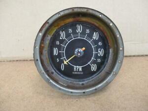 1957 57 Mercury Turnpike Cruiser Dash Tachometer  Rare!  Hot Rod