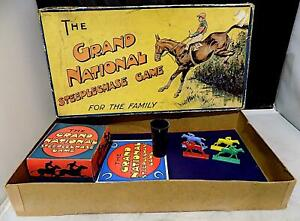 Vintage Grand National Steeplechase Game, Unknown  Maker, Made in England