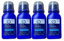 Signature Care (4-Pack) Milk of Magnesia Saline Laxative Original Flavor 12fl oz