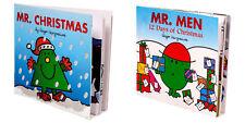 Roger Hargreaves Mr Men & Mr Christmas Book - Xmas Holiday Gift Children Books