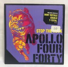 Apollo Four Forty – Stop The Rock CD PURPLE Single slipcase