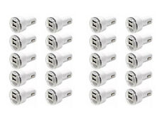 20x Dual USB Port Car Charger Adapter 2.1A For iPhone 4 5 6 LG HTC Samsung Phone