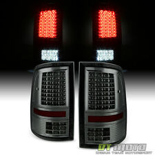 Smoked 09-17 Dodge Ram 1500 10-17 2500 3500 Brake/Signal/Backup LED Tail Lights