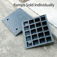Kerb Ramp heavy Duty Rubber Portable Curb Gutter trucks cars or hand trolleys