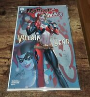 Harley Quinn: Villain Of The Year #1 Exclusive J Scott Campbell Cover A Variant