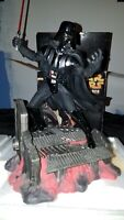 "Cinemascape Darth Vader Cold-Cast Statue 17"" Hasbro 2005 Excellent"