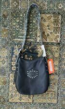 NWT Women's Harley Davidson Soft Black Leather Shoulder Bag