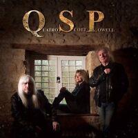 QSP Q.S.P. CD NEW Suzi Quatro Andy Scott (Sweet) Don Powell (Slade) Bonus Track