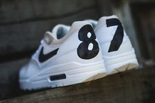 Nike Air Max 1 PRM 87 Edition 1987 Phantom Sz 11.5 Mens White Black 512033-105