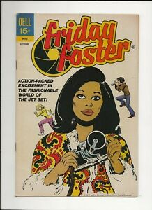 FRIDAY FOSTER #1 1972 DELL MOVIE TV COMIC 1ST ISSUE VG/FN