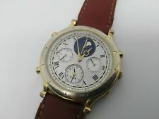 RELOJ SEIKO 7T36-7A10 VINTAGE Age of Discovery MOON PHASE