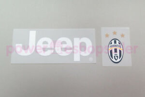 Jeep & Juventus Player Issue Patch / Badge