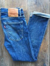 Levis 519™ 31W short Mens Jeans Extreme Skinny Fit Mid Blue Stretch Denim