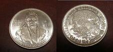 1978 Mexico Large Silver 100 peso Morelos-Priest/General-Eagle/Snake-Nice BU