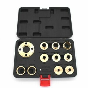 Premium Solid Brass Universal Router Guide Bush Set - 10mm to 30mm