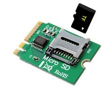 M2 NGFF key WIFI Slot To Micro SD TF card Rearder T-Flash Card M.2 A+E