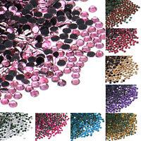 1440Pcs Multi-Color DMC Iron On Hotfix Bulk Crystal Rhinestone SS6 (1.8mm-2.0mm)