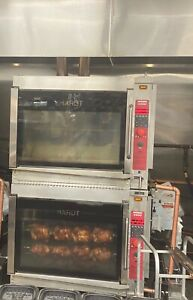 Hardt Inferno GC 4000 Chicken Rotisserie Double Stack Oven (Natural Gas) 2 Ovens