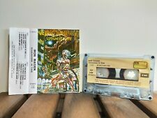 Iron Maiden - Somewhere In Time 1986 first edition - paper label Turkey-Turkish