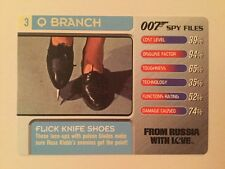 From Russia With Love Knife Shoe #3 Q Branch - 007 James Bond Spy Files Card