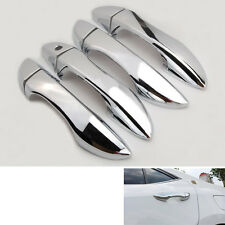 Accessory Chrome Outside Trim Door Handle Cover LHD For 2014-2017 Corolla Altis