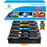 5PK Toner Fits for HP CF410A 410A Color LaserJet Pro MFP M477fnw M477fdw M452dn