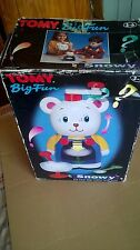 retro TOMY complete set BIG FUN SNOWY BEAR snow slushie maker KIDS TOY unused