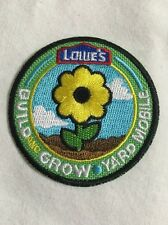 """Lot Of 8 Kid's Build A Yard Mobile Activity Award 2"""" Patch Summer Camp Project"""