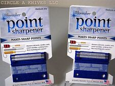 EDGEMAKER POINT SHARPENER -  SHARPENS FISH HOOKS + DARTS SHARPENER - Med #102