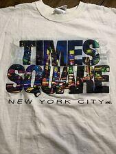 Times Square Vintage Shirt 90s Late 90s Size Medium